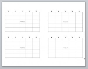 Blank bingo card template gallery templates design ideas bingo card template in word pronofoot35fo gallery pronofoot35fo Image collections