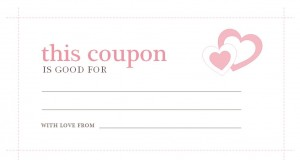 Valentines Day Coupons Valentines Day Coupons Template